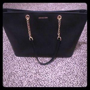 Large black Michael kors purse